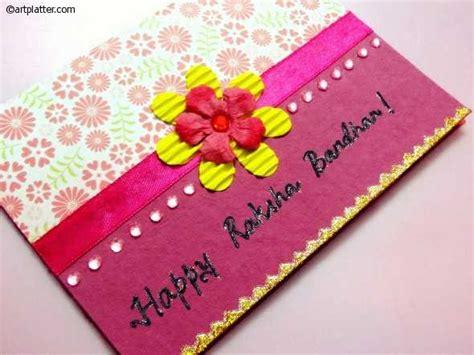 Handmade Greeting Cards For Raksha Bandhan - greeting cards for raksha bandhan 2017 marathi handmade