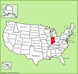 us map indiana indiana location on the u s map
