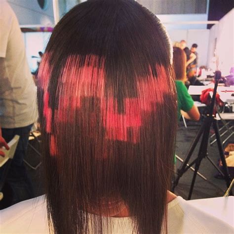 xpression pixel hair color pixelated hair is the newest cutting edge trend bored panda