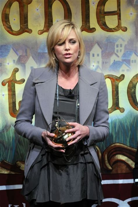 Charlize Theron Is Hasty Puddings Of The Year by Charlize Theron In Charlize Theron Is Hasty Pudding Awards