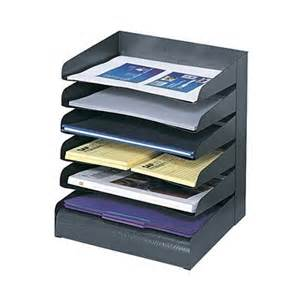 Black Desk Organizer by Safco 3128bl Steel Tray Desk Organizer Black Atg Stores