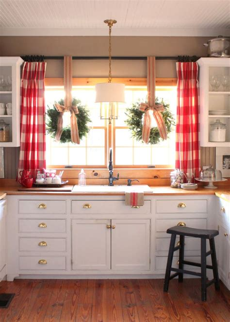 farmhouse kitchen curtains 40 elements to utilize when creating a farmhouse kitchen