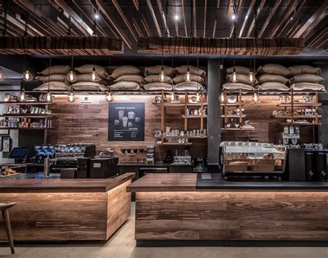 coffee shop stage design starbucks reserve coffee takes center stage in new york