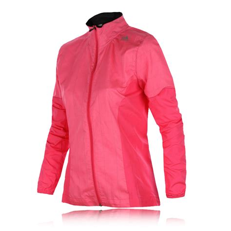 Jaket Adidas Pria Abu Pink Jaket Running adidas supernova womens pink zip casual sports running jacket new ebay