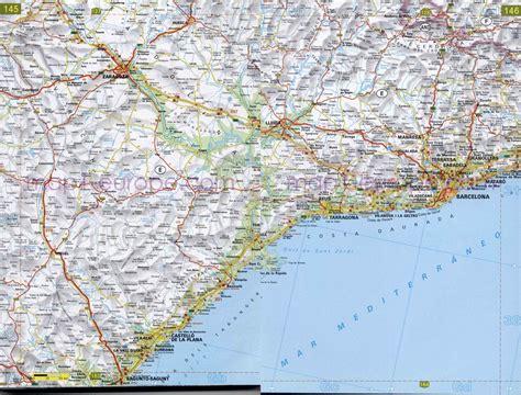 mapa de carreteras de 8499358500 mapa de autov 237 as en tarragona mapacarreteras org