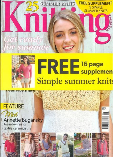 knitting magazine knitting magazine subscription buy at newsstand co uk