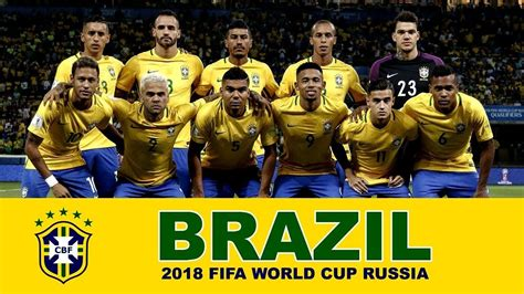 ùi Hình Brazil World Cup 2018 Brazil Football Team 2018 Fifa World Cup Russia Brazil
