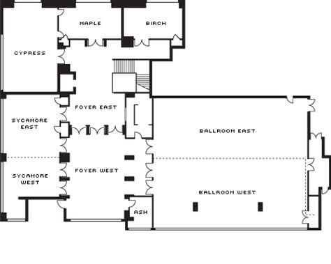 floor plan art seattle wedding venues seattle weddings four seasons hotel