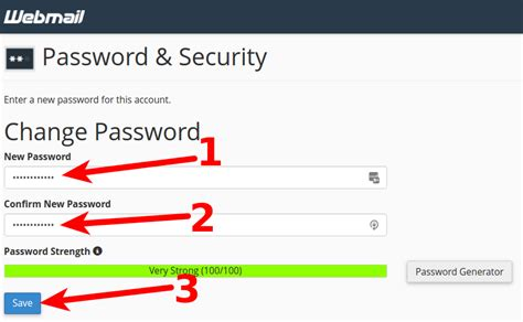 email yahoo password change how to change an email password in cpanel and webmail