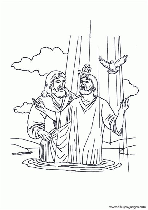 imagenes de jesus para imprimir dibujo de bautizo para colorear colorear dibujos auto