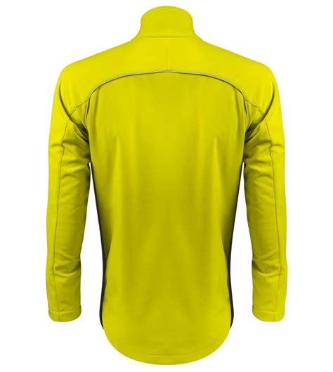 soft shell jacket cycling big man s windproof thermal softshell cycling jacket