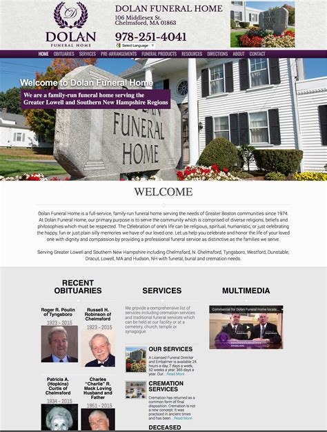dolan funeral home render edge media llc