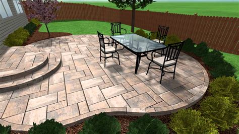 how much for concrete patio how much to pay for sted concrete patio patio designs