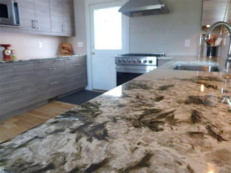 Countertops Utah rustic kitchen remodel alpine white granite countertops