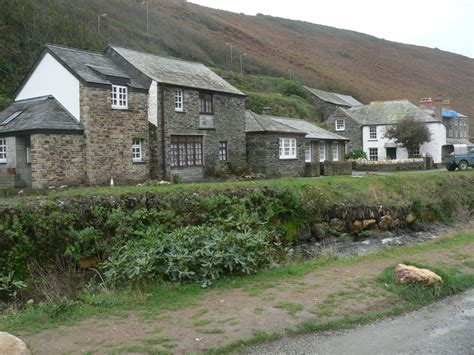Cottages In Boscastle by Panoramio Photo Of Cottages Alongside The River