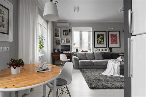 wohnzimmer 50 qm 50 shades of grey masculine apartment teases with