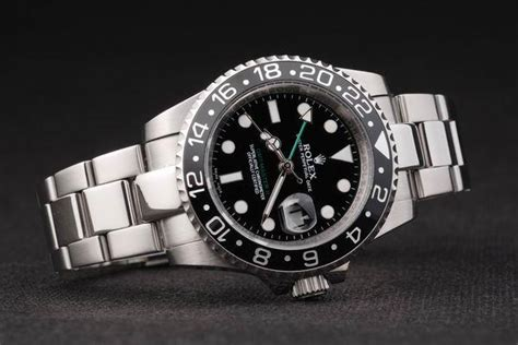 Jam Replika Rolex Gmt Master Ll All Gold Steel Black Swiss Eta 11 cheap replica watches uk luxury rolex on sale
