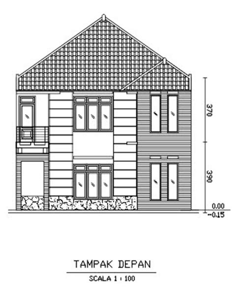 menggambar denah rumah  coreldraw rumahku