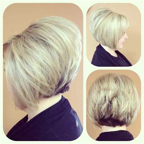 is the stacked bob a good look with round face short bob hairstyles 2016 bob hairstyles 2017 short