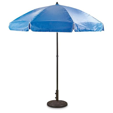 Umbrellas For Patios 7 6 Quot Drape Vinyl Patio Umbrella 635354 Patio Umbrellas At Sportsman S Guide
