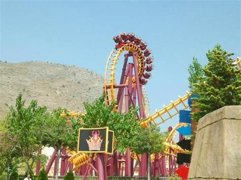 theme park benidorm tit 225 nide ride at terra mitica theme park benidorm