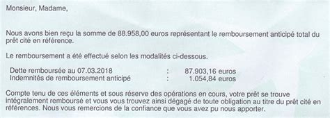 remboursement anticip 233 de cr 233 dit immobilier 231 224 c est