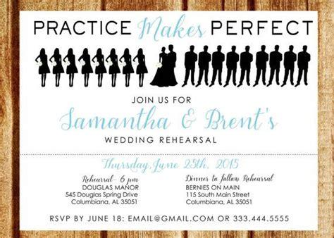 Wedding Rehearsal Checklist by Best 25 Wedding Rehearsal Invitations Ideas On
