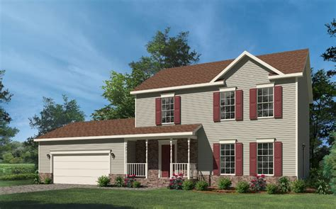 two story home washington two story style modular homes