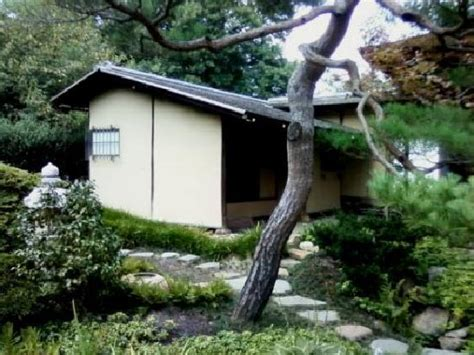 shofuso japanese house and garden hiroshi senju s murals in the shoinoma picture of shofuso japanese house and garden