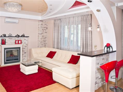 white and red living room 60 red room design ideas all rooms photo gallery