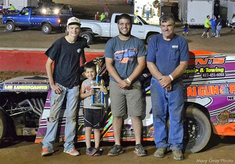 tri state racing results williams scroggins winners at tri state speedway