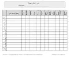 pre k classroom supplies list