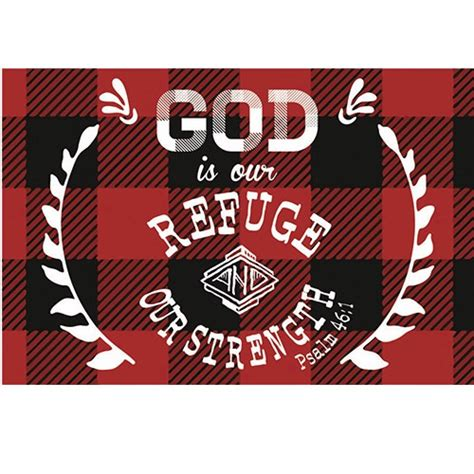 pkg 50 christian message cards pass it on variety pack pkg 25 god is our refuge psalm 46 1 plaid pass it on