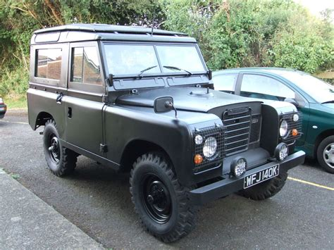 land rover matte matte black land rover series land rover series i ii