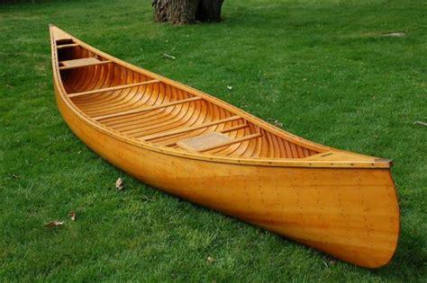 canoes origin free building wood canoe alum