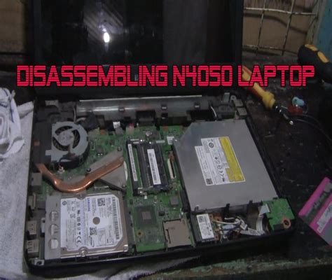 Motherboard Laptop Dell Inspiron N4050 dell inspiron n4050 assembling guide of the laptop pcingredient