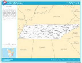 Cities In Tennessee Map by Tennessee State Maps Interactive Tennessee State Road