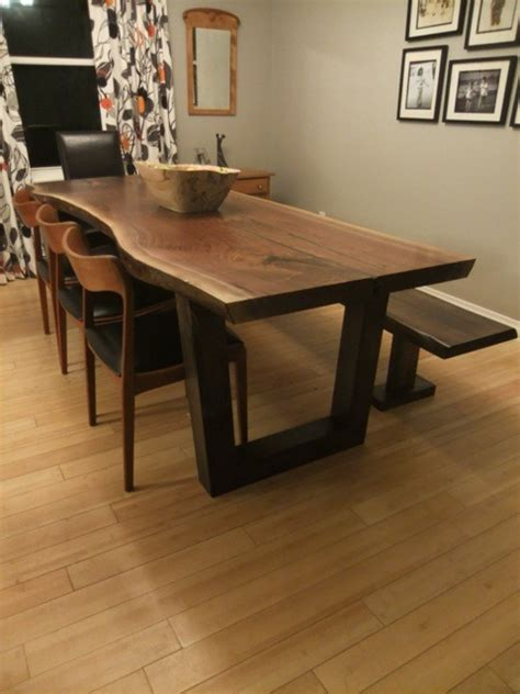 Dining Room Furniture Toronto Live Edge Tables Toronto Ontario Slab Table Contemporary Dining Tables Toronto By Tree