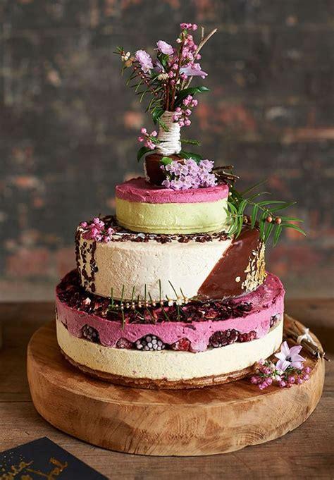 cheesecake wedding cake chic vintage brides chic - Cheesecake Wedding Cake