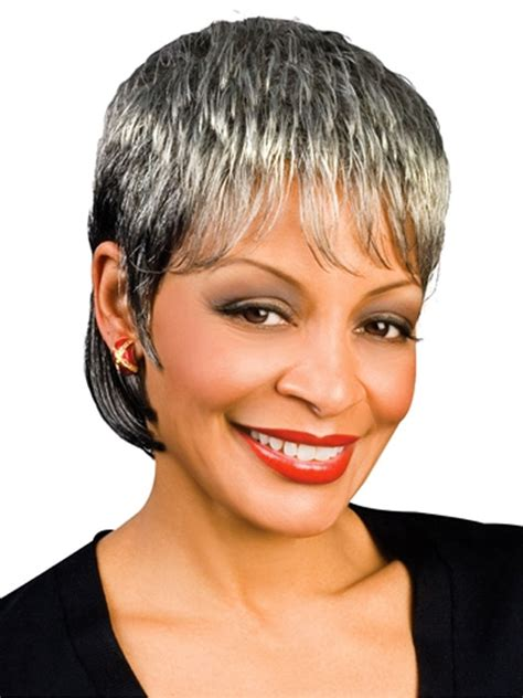 silver fox wigs for women over 50 india synthetic wig by foxy silver wigs hsw wigs