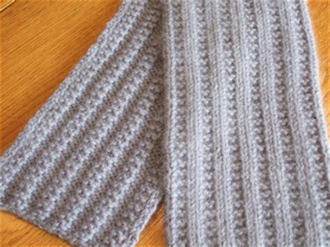 knitting pattern scarf garter stitch ravelry garter stitch rib scarf pattern by joanne dillahunty