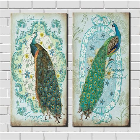 bird oil painting canvas wall art home decor living room modern wall art home decoration printed oil painting