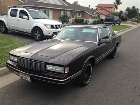 ls for less 1987 monte carlo ls 5 0l with less than 27k original miles