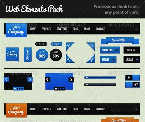 web page layout and elements 15 web design elements psd images psd ui web design