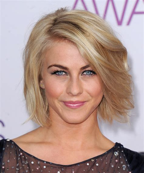 julianna huff hair cut julianne hough short straight casual hairstyle medium