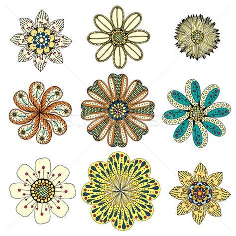 why doodle flowers monochrome 183 doodle 183 fleurs 183 r 233 sum 233 illustration