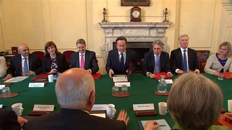 Government Cabinet Uk by David Cameron Holds All Cabinet Meeting Since