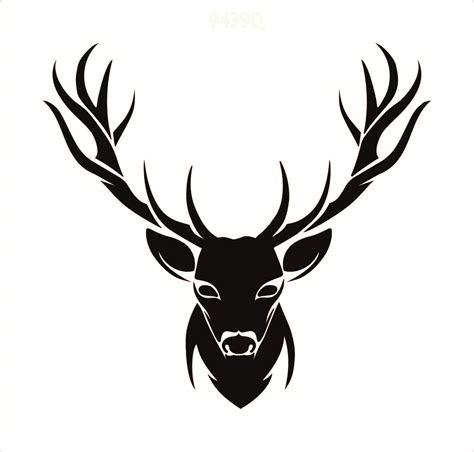 stag head designs stag head stencil www imgkid com the image kid has it