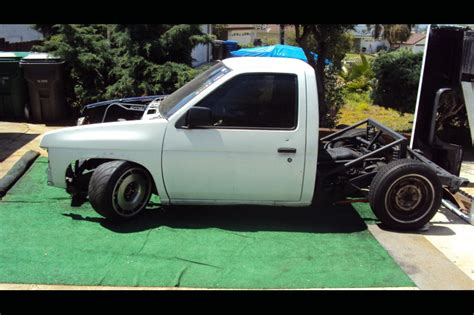 nissan hardbody drift building a lexus powered nissan drift truck speedhunters