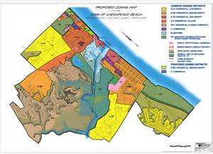zoning map town of chesapeake md proposed zoning plan 2010